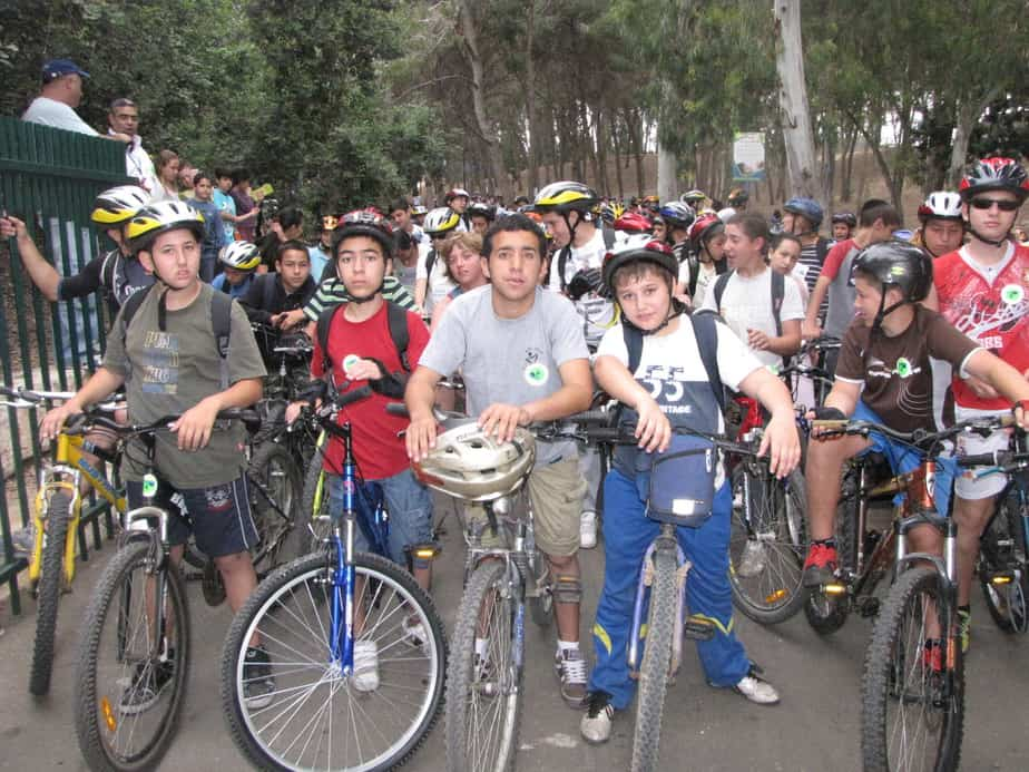תלמידים מעכו משתתפים במסע
