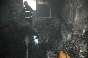 שריפת בית מורד הגיא 23 בכרמיאל