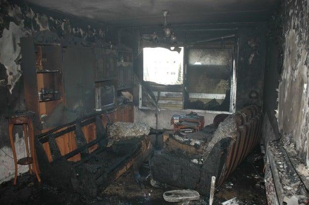 השריפה בכרמיאל