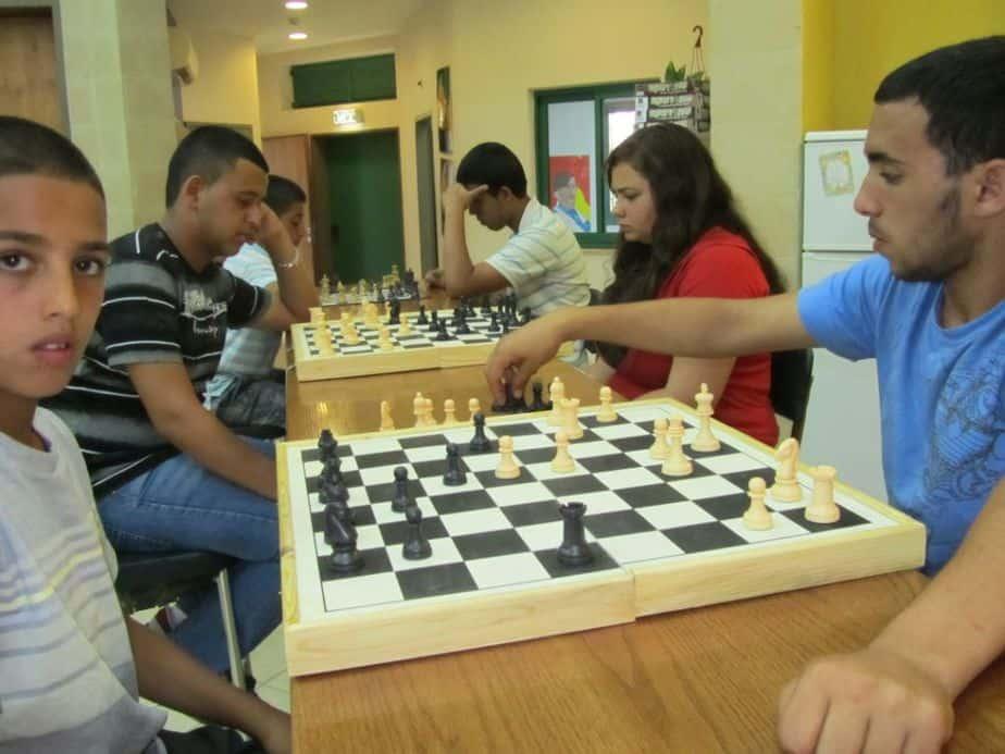 בני נוער באליפות השחמט הראשונה