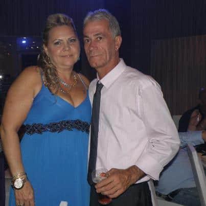 אבי תמיר  וזוגתו מירי