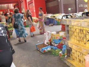 תנועת קונים דלילה. השוק החדש