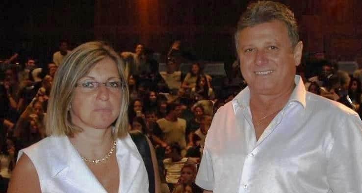 ראש העירייה חיים אביטן ומנהל אגף החינוך, חני וייצמן