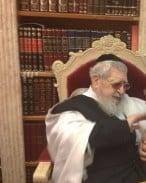 חיים רואש והרב עובדיה יוסף