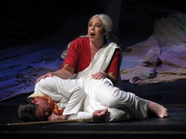 """קידר בתפקיד """"סאביטרי"""" באופרה של גוסטב הולסט (צילום: Mittelsachsisches Theater )"""