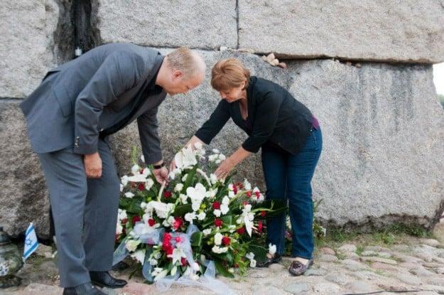 """ח""""כ ליה שמטוב בטקס זכרון בפולין"""
