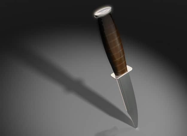 סכין אילוסטרציה