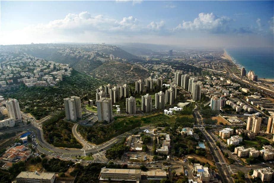 רמת הנשיא בחיפה מבט על