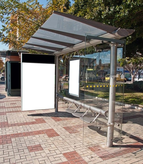 בחדרה, אפשר לחנות לידה. תחנת אוטובוס (צילום אילוסטרציה)