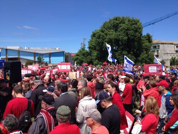 הפגנה באוסטרליה