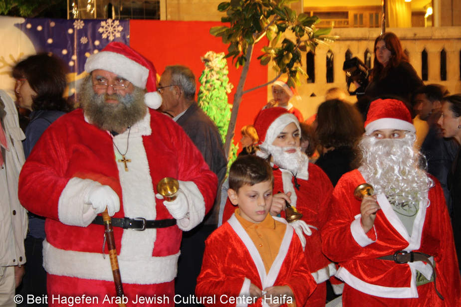 חג המולד בוואדי ניסנאס (צילומים: באדיבות בית הגפן)