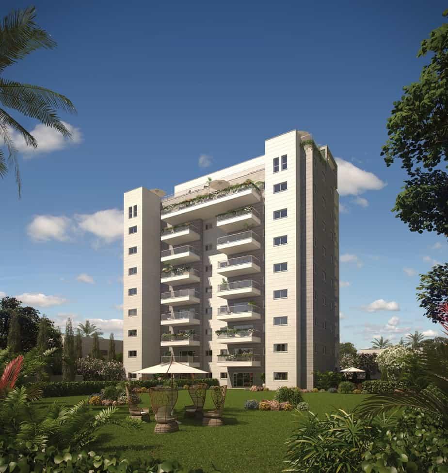גבעת אלונים שרביב- בניין 10 קומות