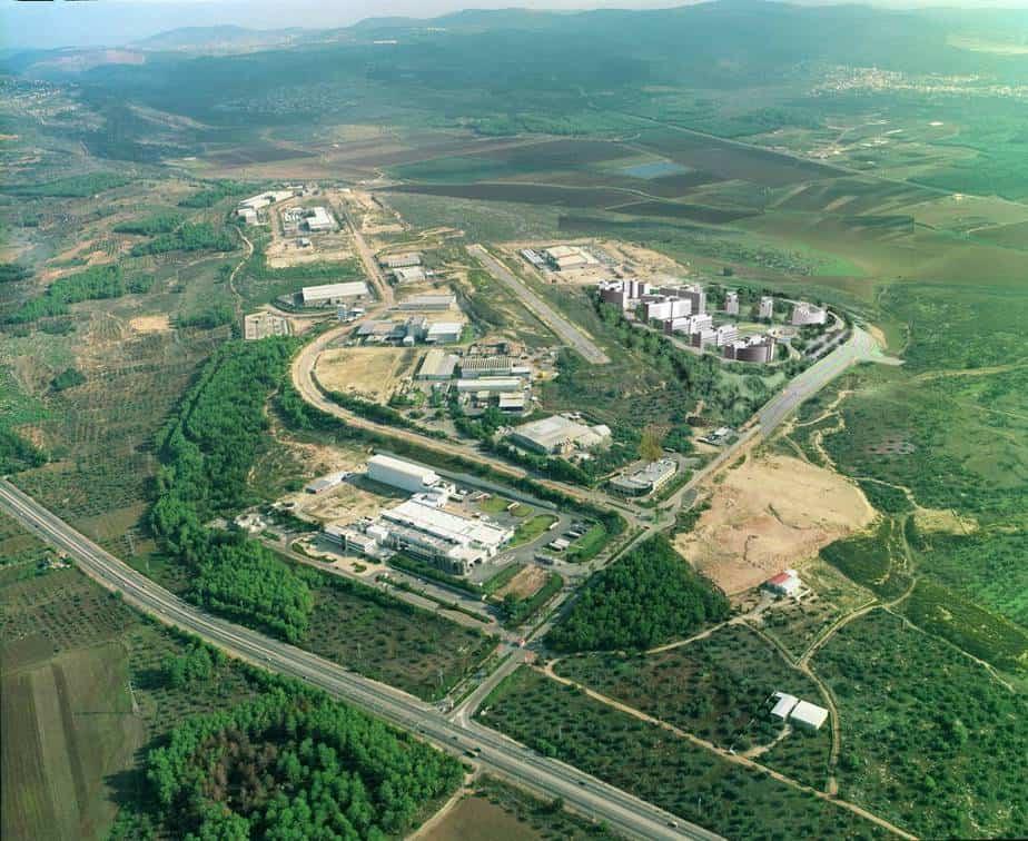 פארק התעשייה בר-לב (צילום: גל חרמוני)