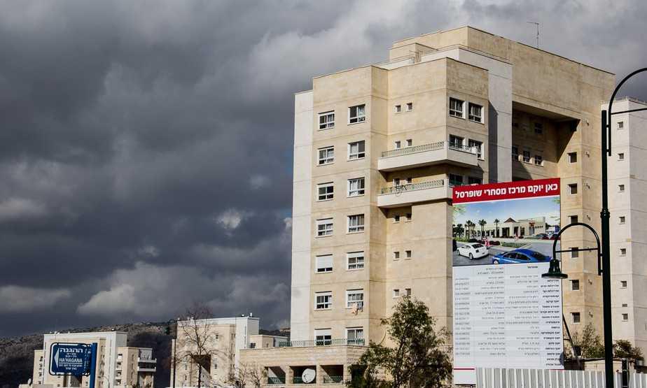 בקרוב דירות יוקרה בשכונת הר כרמי כרמיאל ( צילום: אלכס הובר)