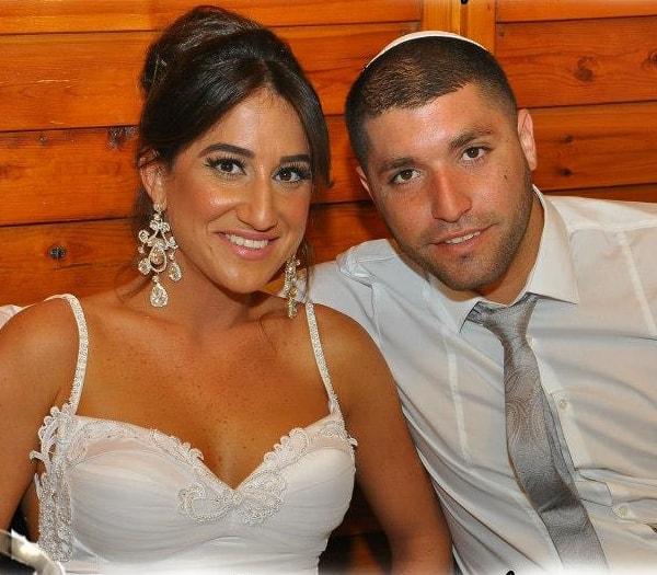 חתונה מהאגדות. רחלי ואמיר חסן  (צילום: מגנט full)