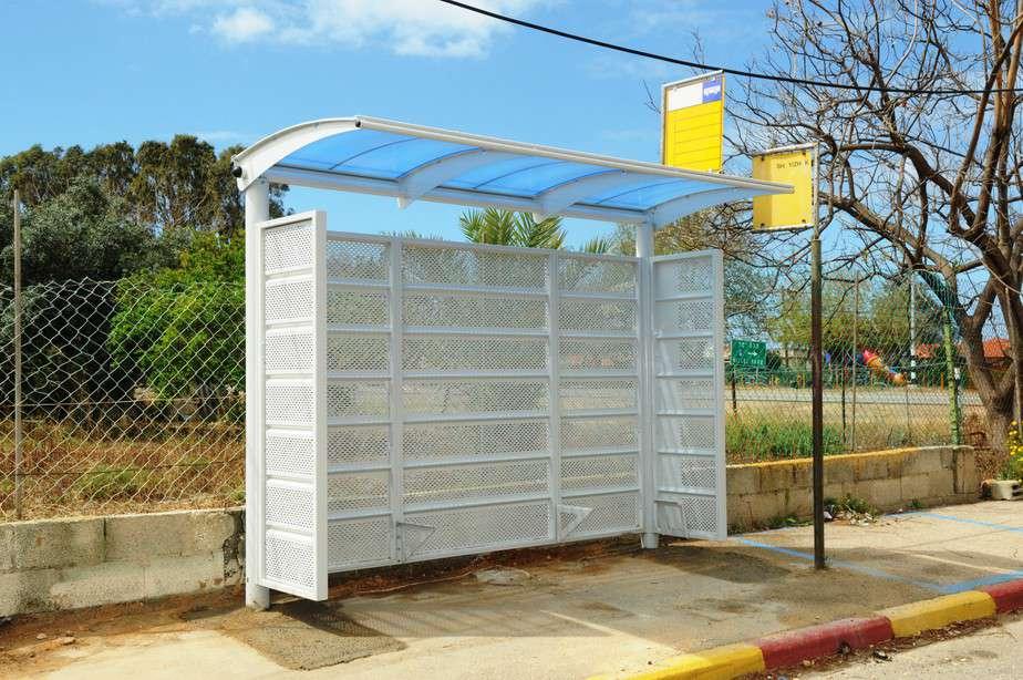 תחנת אוטובוס נגישה