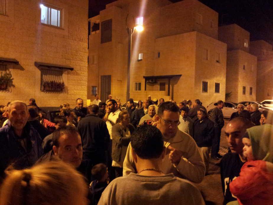 הפגנה בכרם ב'  (צילום: אדיר כהן, עכו שלנו)