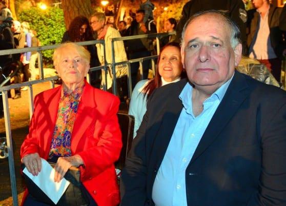 ראש עיריית חיפה יונה יהב ואיטה פוגל
