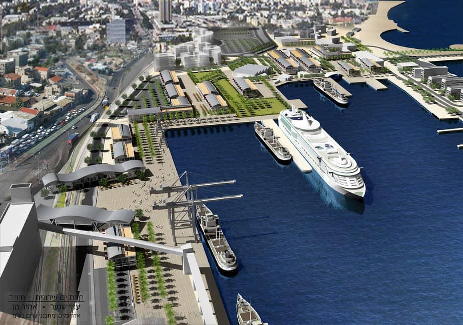 נמל חיפה העתידי