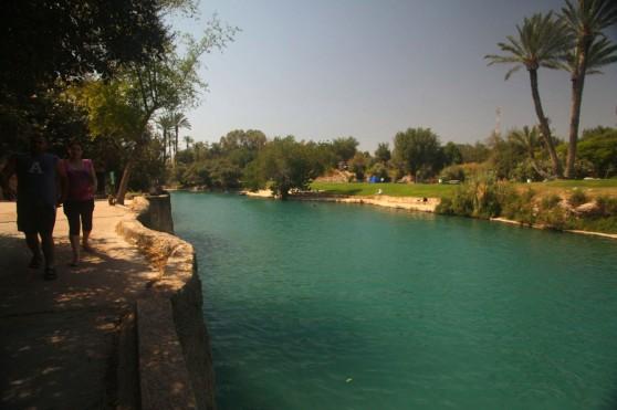"""גן לאומי גן השלושה צילום: יח""""צ המועצה האזורית עמק המעיינות"""