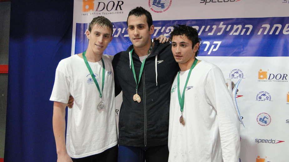יהונתן קופלב (במרכז)