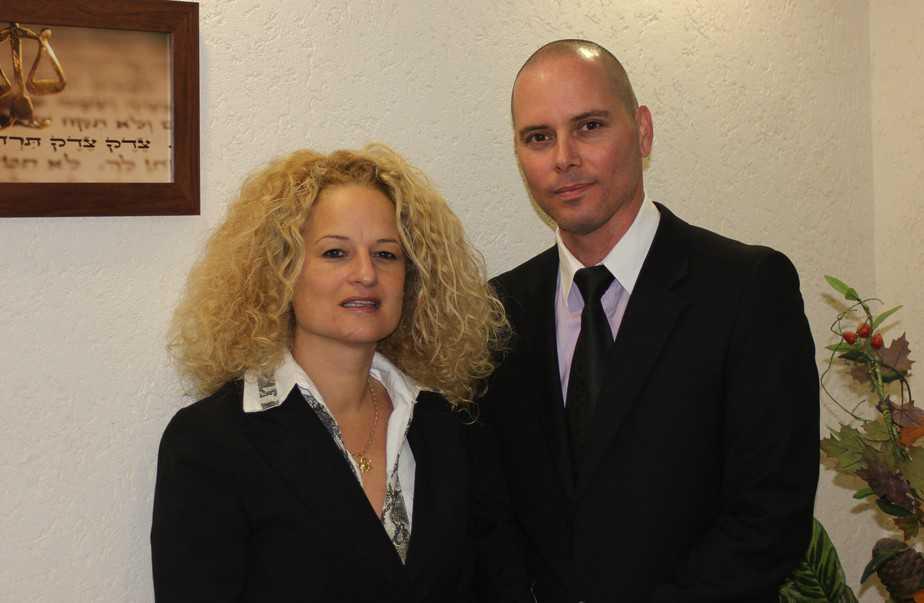 """עו""""ד דורי שוורץ ושיראל בר (צילום: עצמי)"""