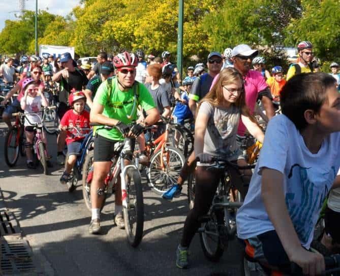 מסע אופניים בקרית ביאליק