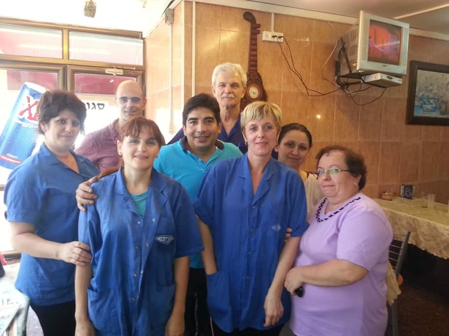 עובדי מפעל ג'אנה בנצרת עילית