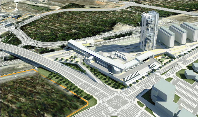 התחנה המרכזית החדשה בחדרה
