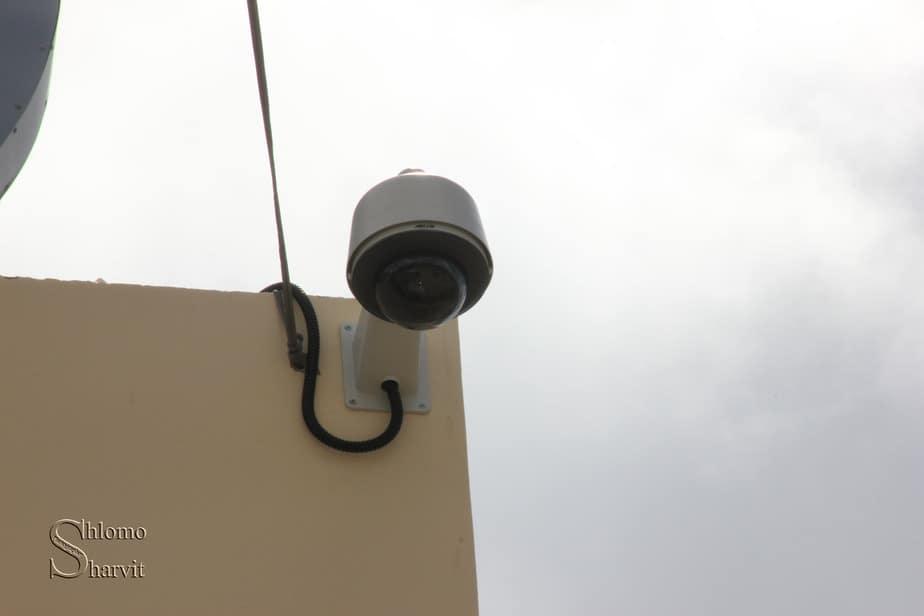 מצלמות אבטחה במעלות