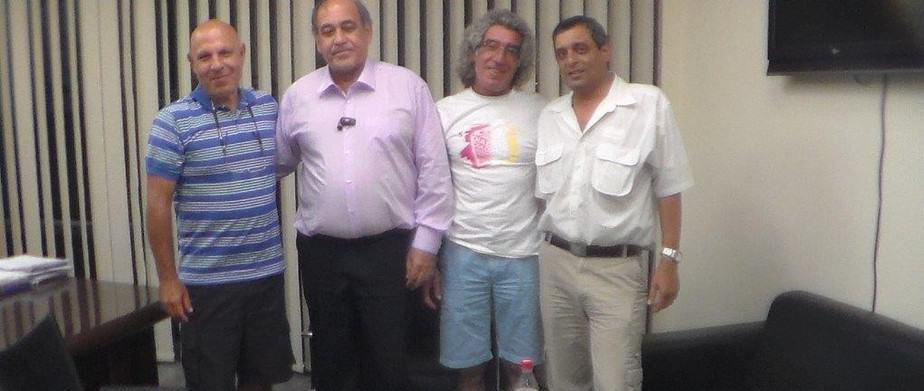 האיחוד בין יגאל זיסקינד לגבי נעמן