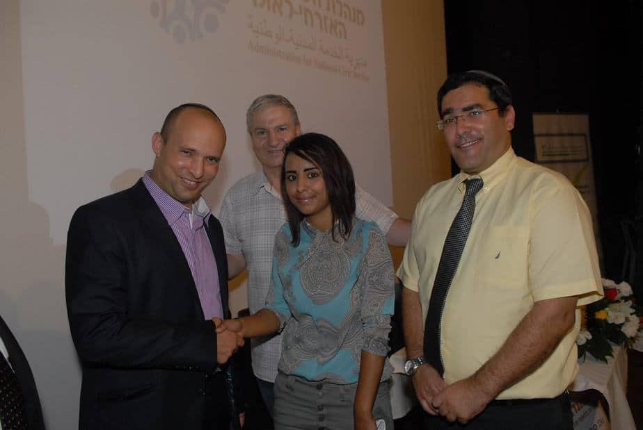 סוראייה סוואעד מתנדבת בשירות לאומי