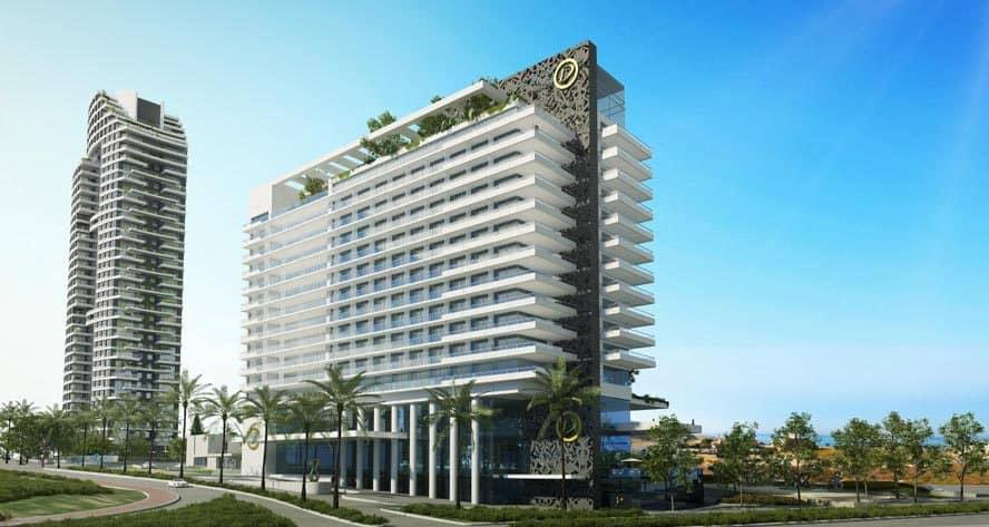 פרויקט מלון לגון (הדמיה: 3D)