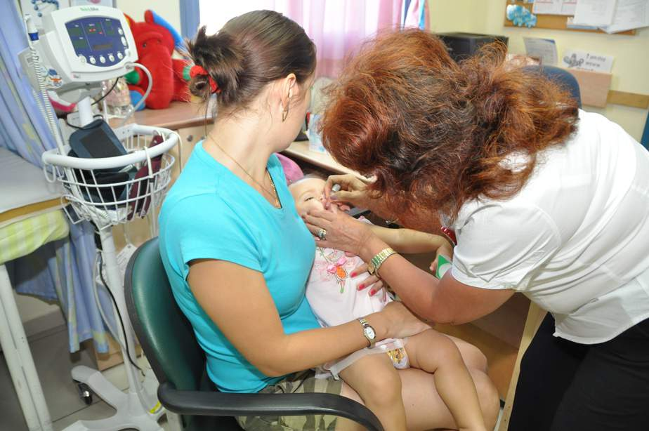 חיסונים צילום דוברות שירותי בריאות כללית)