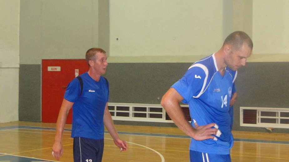 אלכסיי צ'רבקוב (משמאל) וסיידור מיקיאלו (צילום: איסר רביץ)