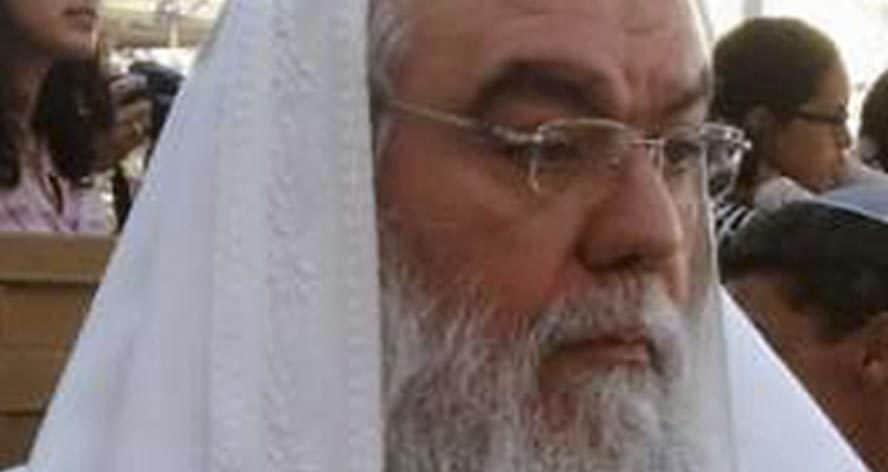 הרב רפאל מאמו (צילום: משה לאון)