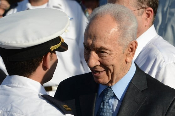 נשיא המדינה שמעון פרס