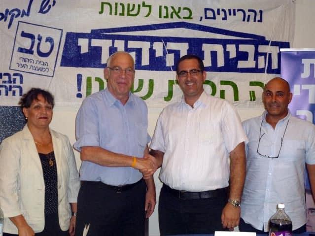 אורי אריאל וקובי ויצמן (צילום: