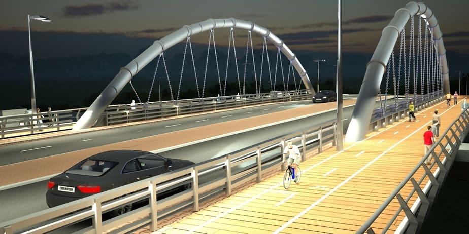גשר השרון (הדמיה ח.ל.ת)