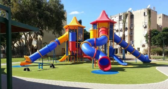 הפארק החדש בצור שלום (צילום: באדיבות עיריית קרית ביאליק)