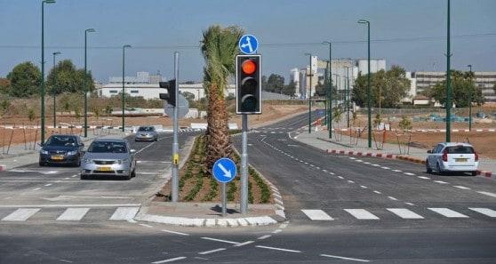 הכביש החדש ברחוב האורזים (צילום: רן אליהו)