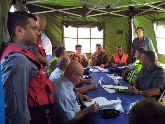 תרגיל גורמי חירום במפרץ חיפה (כבאות מחוז חוף)