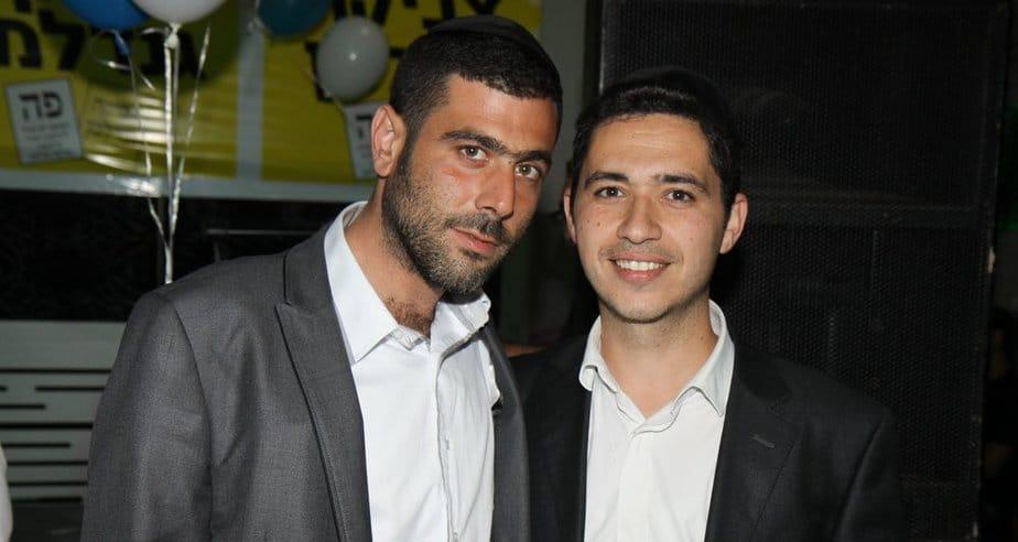 בועז ביטון (מימין) וניסים אביטן (צילום: שלומי גבאי)