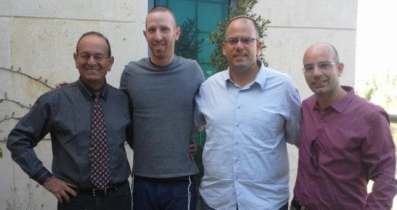 תמיר גודמן, עדי אלדר, רותם ינאי, יובל קיסוס (צילום: דוברות)
