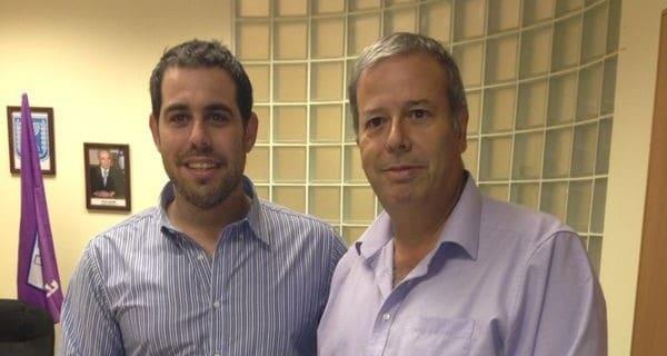 איתי רק ושמעון גפסו (צילום: עצמי)
