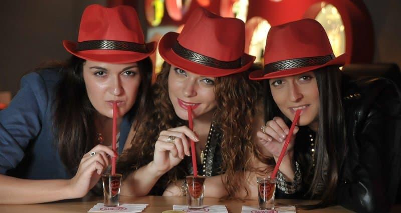 אלכסנדרה לחוביצקי, סבטלנה אלטמן ואירנה לחייני (צילום: עידן חן)