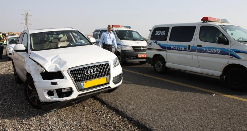 הרכב עורר את חשדת אנשי הסיירת (צילום: שלומי גבאי)