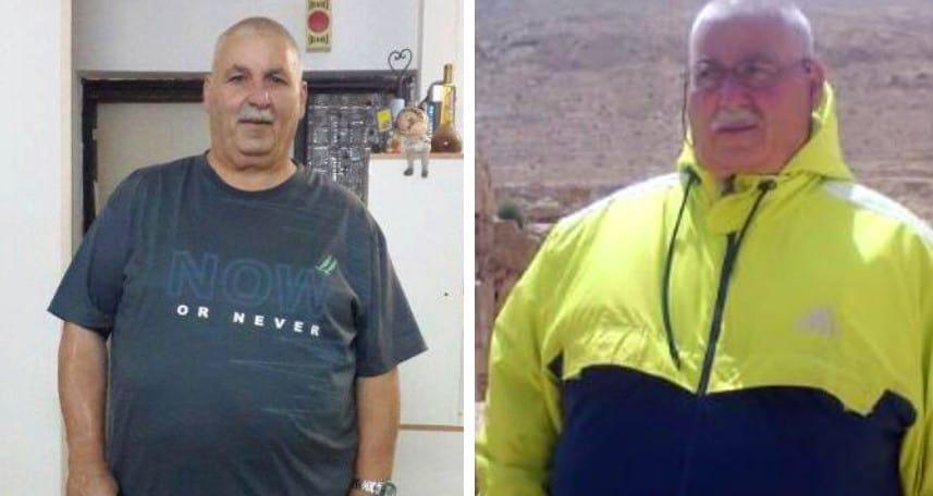אבי מורד לפני ואחרי (צילום: עצמי)