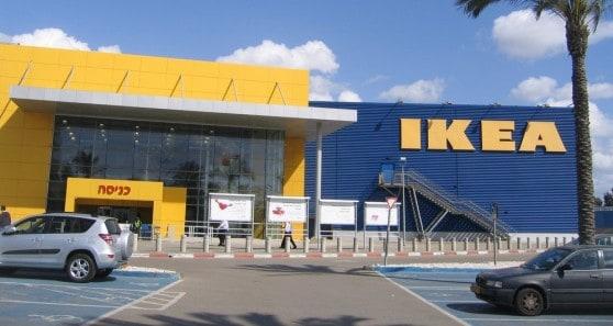 חנות איקאה, אזור תעשיה פולג (צילום: רותי ברמן)