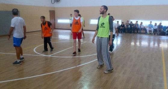 דורון שפר והשחקנים (צילום: עצמי)